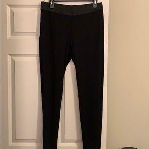 Ann Taylor leggings w/elastic waistband